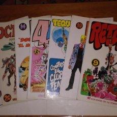 Comics: * PAPEL VIVO * EDICIONES DE LA TORRE 1979 / 1993 * LOTE DE 8 Nº EXCELENTES *. Lote 208403738