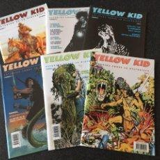 Cómics: YELLOW KID COMPLETA 6 NÚMEROS - ESTUDIOS DE LA HISTORIETA - 1ª EDICIÓN - GIGAMESH - 2001 - ¡NUEVA!. Lote 208770286