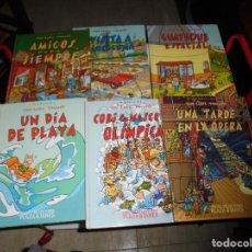 Cómics: THE COBI TROUPE (6 TOMOS) COMPLETA MARISCAL OLIMPÍADA BARCELONA 92. Lote 208785257
