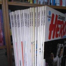 Comics : * GRANDES HEROES * PLANETA COMIC 1981 * EL DESCUBRIMIENTO DEL MUNDO * COMPLETA DE 24 Nº EXCELENTES *. Lote 208840657