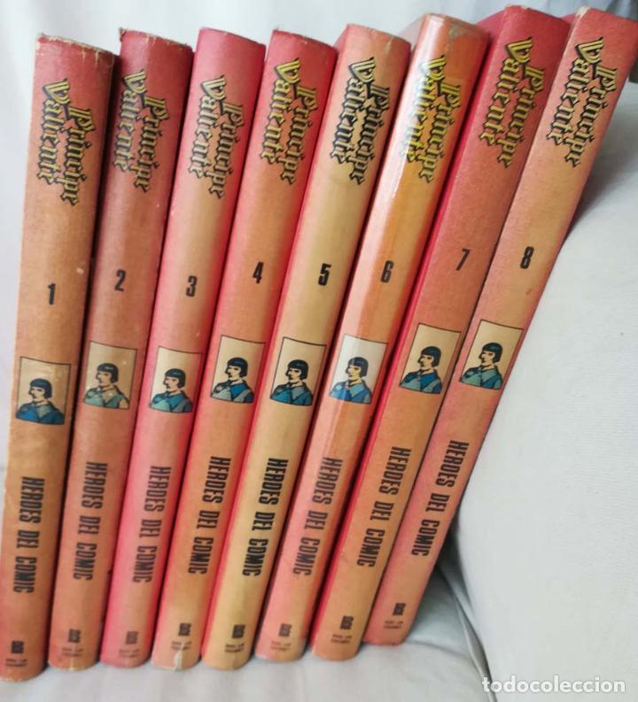 PRINCIPE VALIENTE, 8 TOMOS , BURU LAN (Tebeos y Comics - Buru-Lan - Principe Valiente)
