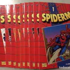 Cómics: SPIDERMAN Nº 1 AL 10. Lote 209299020