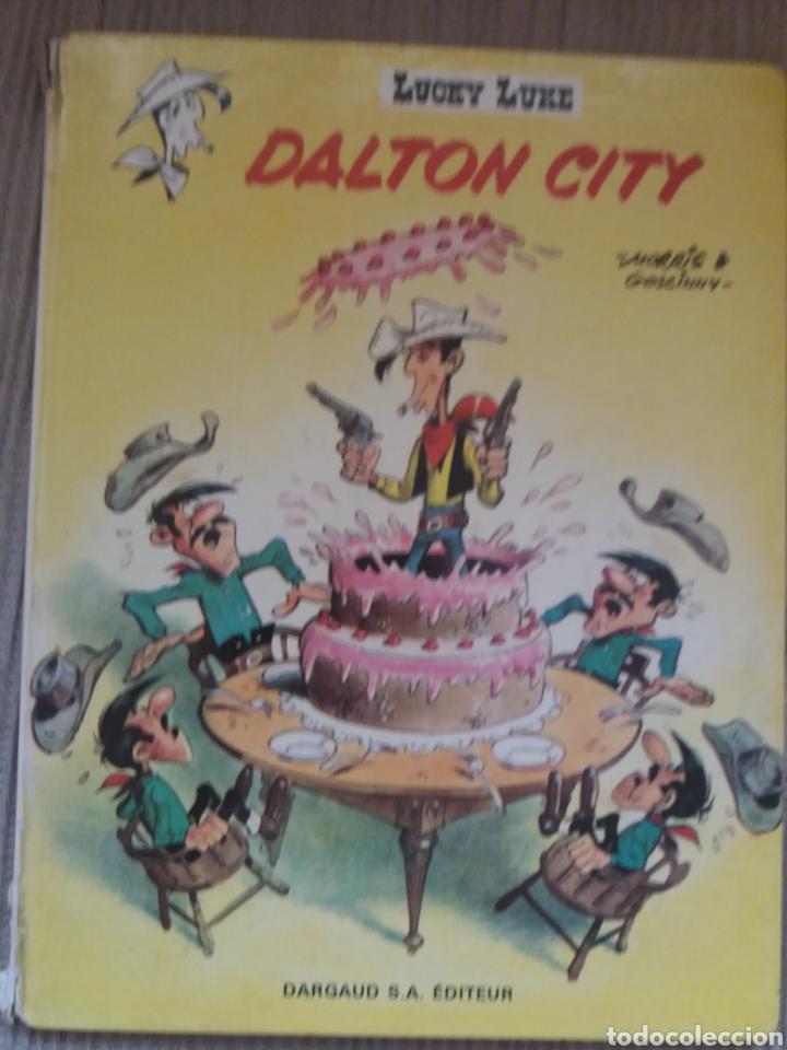 LUCKY LUKE - DALTON CITY - EDITORIAL DARGAUD 1969 EN FRANCES (Tebeos y Comics Pendientes de Clasificar)