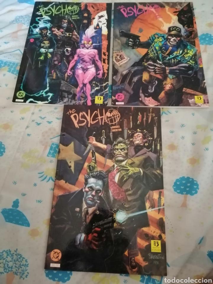 THE PSYCHO LOTE COMPLETO DC COMICS (Tebeos y Comics - Comics Pequeños Lotes de Conjunto)