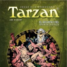 Cómics: TARZAN DE JOE KUBERT 2 : EL REGRESO DEL SEÑOR DE LA JUNGLA - YERMO / DC / TAPA DURA. Lote 209691650