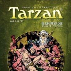 Cómics: TARZAN DE JOE KUBERT 1 2 3 COMPLETA - YERMO / DC / TAPA DURA. Lote 209691977