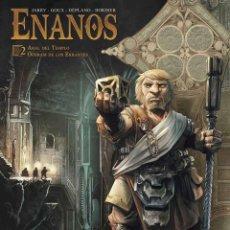 Cómics: ENANOS 2 : ARAL DEL TEMPLO : OOSRAM DE LOS ERRANTES - YERMO / TAPA DURA. Lote 209693291