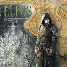 Cómics: ELFOS 9 : LA SANGRE NEGRA DE LOS SILVANOS / ALYANA - YERMO / TAPA DURA. Lote 209693725
