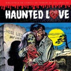 Cómics: BIBLIOTECA DE COMICS DE TERROR DE LOS AÑOS 50 1 : HAUNTED LOVE - DIABOLO / TAPA DURA. Lote 209788342
