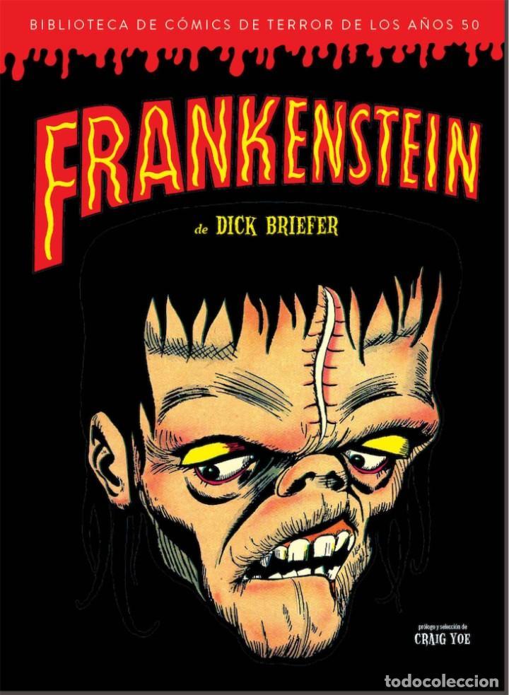 BIBLIOTECA DE COMICS DE TERROR DE LOS AÑOS 50 2 : FRANKENSTEIN DE DICK BRIEFER - DIABOLO /TAPA DURA (Tebeos y Comics - Comics otras Editoriales Actuales)