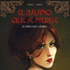 Cómics: EL ASESINO QUE SE MERECE 2 : LAS ATRACCIONES CULPABLES - YERMO / TAPA DURA. Lote 209792595