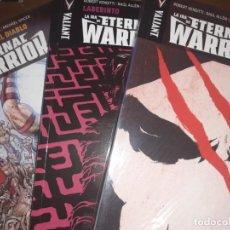 Cómics: LA IRA DEL ETERNAL WARRIOR - COMPLETA 3 TOMOS - VALIANT MEDUSA. Lote 209839826