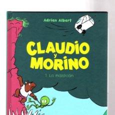 Cómics: CLAUDIO Y MORINO 1 : LA MALDICIÓN - ASTIBERRI / TAPA DURA. Lote 204683168