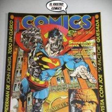 Cómics: COMICS SCENE Nº 12, ED. ZINCO, SUPERMAN DE ROMITA, CUATRO FANTASTICOS, JOE QUESADA, LEGIONARIOS, 6A. Lote 210054998