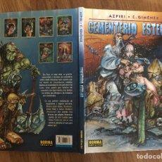 Comics: CEMENTERIO ESTELAR - AZPIRI / C. GIMENEZ - NORMA - TAPA DURA - GCH1. Lote 210080541