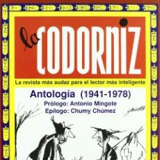Cómics: LA CODORNIZ: ANTOLOGIA (1941-1978).-NUEVO. Lote 210218625