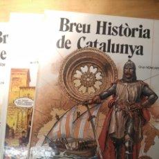 Cómics: BREU HISTÒRIA DE CATALUNYA, OBRA COMPLETA 3 VOLÚMENES 1980. Lote 210232501