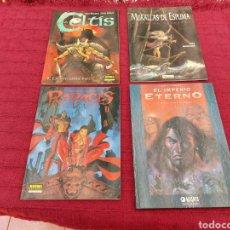 Cómics: LOTE DE COMIC:EL IMPERIO ETERNO/RAPACES II/CELTIS/MURALLAS DE ESPUMA/. Lote 210236196