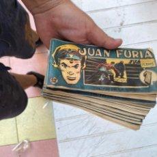 Cómics: LOTE DE 21 JUAN FURIA Nº 12. FRANK ROBBINS.SELECCIONES EDITORIALES. AÑOS 1951. Lote 210325347