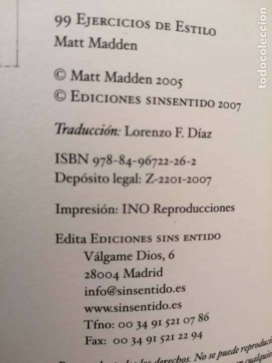 Cómics: 99 EJERCICIOS DE ESTILO, MATT MADDEN - Foto 5 - 210347478