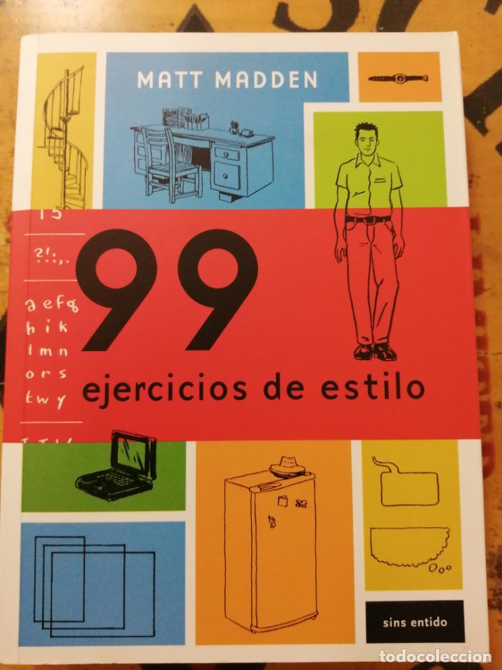 99 EJERCICIOS DE ESTILO, MATT MADDEN (Tebeos y Comics Pendientes de Clasificar)