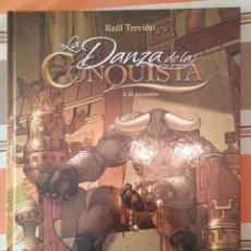 Comics: LA DANZA DE LA CONQUISTA - 2 EL ENCUENTRO - NORMA. Lote 210425015