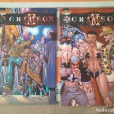 Cómics: CRIMSON 1, 2 - COMIC. Lote 210470653