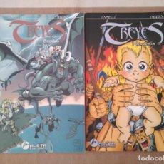 Cómics: TREYES - EXODUS + NEMESIS. Lote 210472832