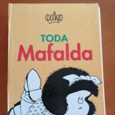 Cómics: TODA MAFALDA * QUINO * 8º EDICION 1998 * LIBRO GRAN FORMATO * TOMO GIGANTE. Lote 210484868