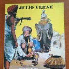 Cómics: JULIO VERNE Nº 7 * REBELDES EN LA INDIA * ED. GAVIOTA. Lote 210489387