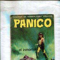 Cómics: PANICO FORMATO LIBRETA NUMERO ?: EL INMORTAL (ESTEBAN). Lote 210489715