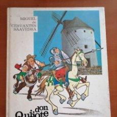 Cómics: DON QUIJOTE DE LA MANCHA * COMIC * CIRCULO DE LECTORES 1975 * TAPA DURA. Lote 210492582