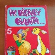 Cómics: WALT DISNEY CUENTA .... TOMO Nº 5 ** EDICIONES RECREATIVAS * 1977 * COLECCION DIFICIL. Lote 210525775