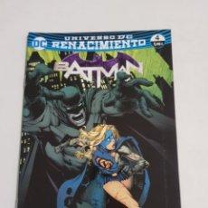 Cómics: BATMAN Nº 4 UNIVERSO DC RENACIMIENTO EDITORIAL ECC ESTADO NUEVO MAS ARTICULOS LEER. Lote 210618973