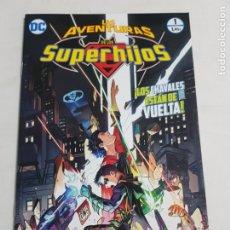 Cómics: LAS AVENTURAS DE LOS SUPERHIJOS Nº 1 EDITORIAL ECC ESTADO NUEVO MAS ARTICULOS LEER. Lote 210619083