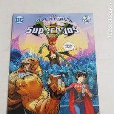 Cómics: LAS AVENTURAS DE LOS SUPERHIJOS Nº 3 EDITORIAL ECC ESTADO NUEVO MAS ARTICULOS LEER. Lote 210619140