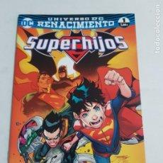 Cómics: SUPERHIJOS Nº 1 UNIVERSO DC RENACIMIENTO EDITORIAL ECC ESTADO NUEVO MAS ARTICULOS LEER. Lote 210619157