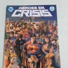 Cómics: HEROES EN CRISIS Nº 1 EDITORIAL ECC ESTADO NUEVO MAS ARTICULOS LEER. Lote 210619177