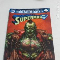 Cómics: SUPERMAN Nº 7 UNIVERSO RENACIMIENTO EDITORIAL ECC ESTADO NUEVO MAS ARTICULOS LEER. Lote 210619242