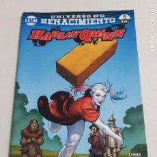 Cómics: HARLEY QUINN Nº 5 UNIVERSO DC RENACIMIENTO EDITORIAL ECC ESTADO NUEVO MAS ARTICULOS LEER. Lote 210619296