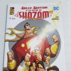 Cómics: BILLY BATSON Y LA MAGIA DE SHAZAM Nº 1 EDITORIAL ECC ESTADO NUEVO MAS ARTICULOS LEER. Lote 210619416