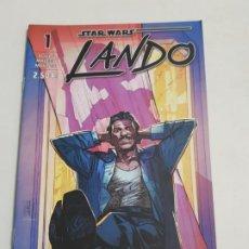 Comics: STAR WARS LANDO Nº 1 EDITORIAL PLANETA ESTADO NUEVO MAS ARTICULOS LEER. Lote 210625690
