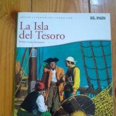 Cómics: JOYAS LITERARIAS JUVENILES: LA ISLA DEL TESORO DE ROBERT LOUIS STEVENSON - 2010 - D8. Lote 210629641