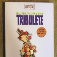 Comics: EL REPORTER TRIBULETE - CLASICOS DEL HUMOR / EDICION ESPECIAL COLECCIONISTA - RBA, TAPA DURA - GCH1. Lote 210632908
