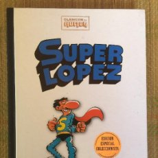 Comics: SUPER LOPEZ- CLASICOS DEL HUMOR / EDICION ESPECIAL COLECCIONISTA - RBA, TAPA DURA - GCH1. Lote 210633200