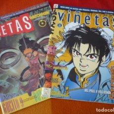 Cómics: VIÑETAS NºS 10 Y 11 ( STREET FIGHTER WATCHMEN ) ¡BUEN ESTADO! REVISTA COMICS GLENAT. Lote 210639653