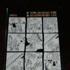 Fumetti: EL EXTRAORDINARIO PEPE (CABU), PRÓLOGO DE ORIOL VERGÉS, AUTOR: CABU, EDITORIAL: EDITORIAL TABER, AÑO. Lote 210651524