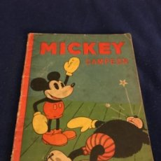 Cómics: ANTIGUO CUENTO DE SATURNINO CALLEJA S.A. - MICKEY CAMPEON - ILUSTRACIONES DE WALT DISNEY - EDITORIAL. Lote 210681086