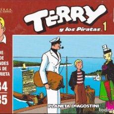 Cómics: COLECCION COMPLETA TERRY Y LOS PIRATAS 17 VOLUMENES BIBLIOTECA GRANDES DEL COMIC PLANETA AGOSTINI. Lote 210732996