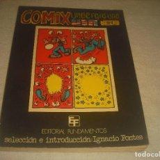 Comics: COMIX UNDERGROUND USA N. 2 . 51 . ED. FUNDAMENTOS.. Lote 210823879
